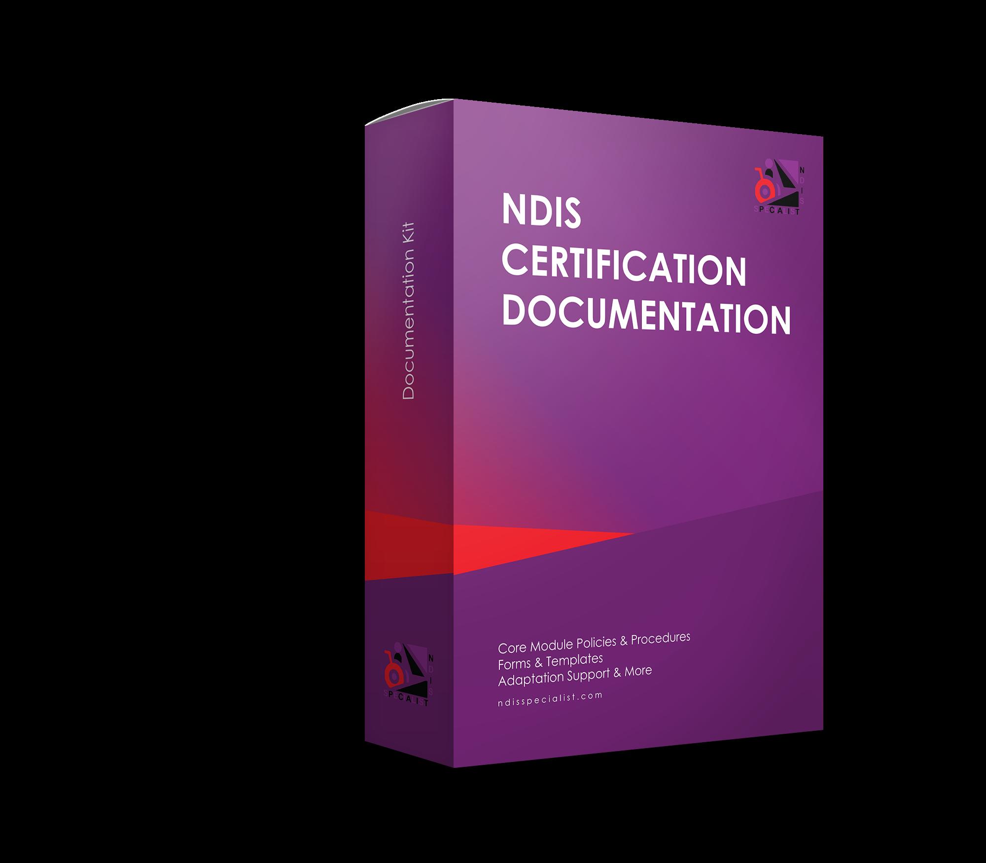 NDIS Certification Documentation
